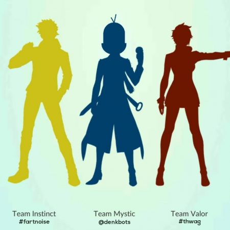 Wisdom and Logic over Emotion or Trust? You already know denkbots are #TeamMystic! @GoTeamMystic #PokemonGO